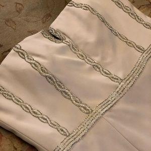 Unique Beaded Mother of Bride Dress